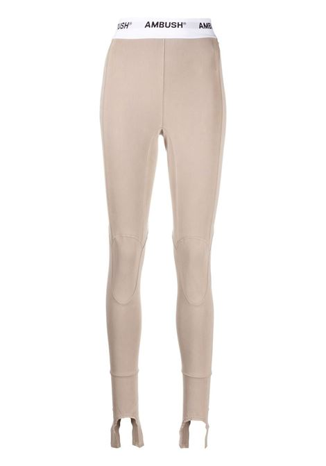 Ambush leggings con staffe donna winter twig AMBUSH | Leggings | BWCD001S21JER0016100