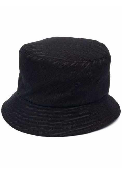 Ambush logo bucket hat black AMBUSH | BWLA001S21FAB0011010