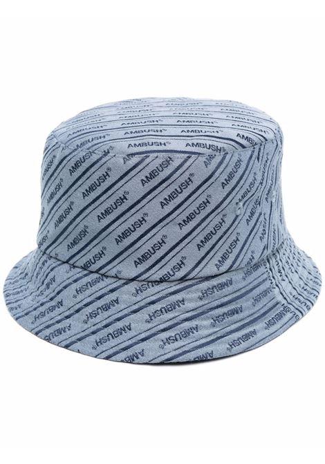 Ambush logo bucket hat light blue AMBUSH | Hats | BWLA001S21FAB0014045