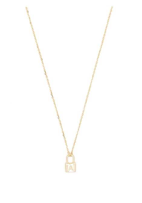 Petit Series padlock necklace AMBUSH | BWOB029S21MET0027600