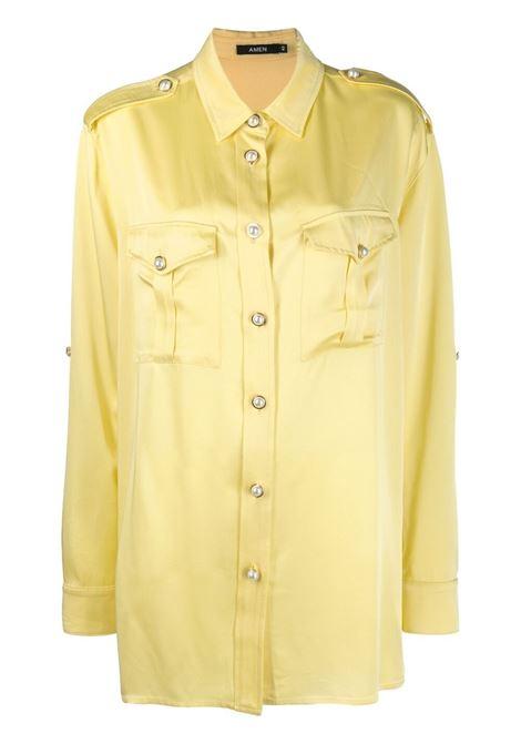 Amen donna yellow AMEN | Camicie | AMS21106320