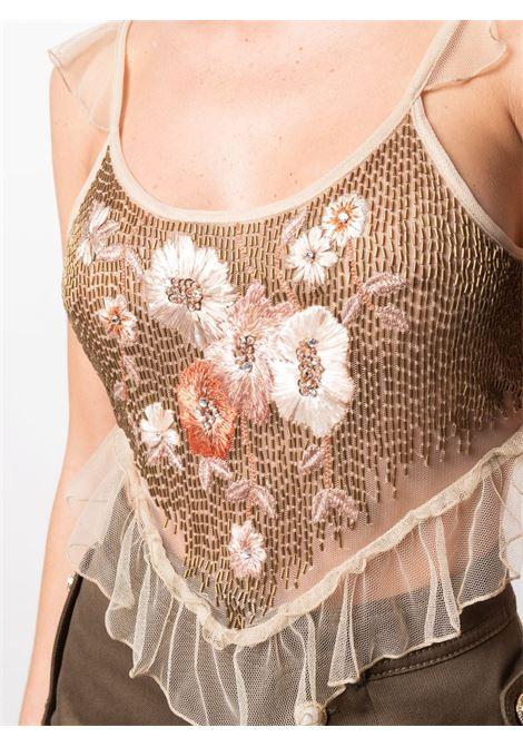 Top con paillettes Donna AMEN | AMS21219089
