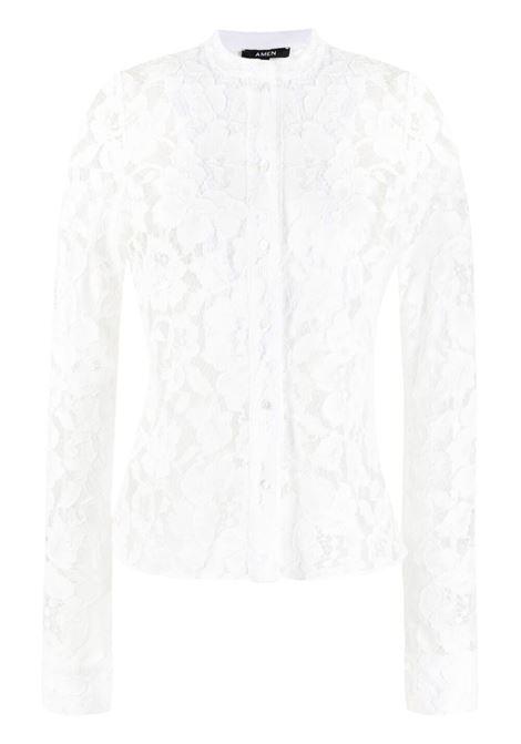 Amen donna off white AMEN | Camicie | AMS21221081