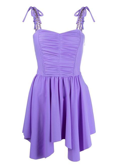 Amen abito corto donna lilac AMEN | Abiti | AMS21454143