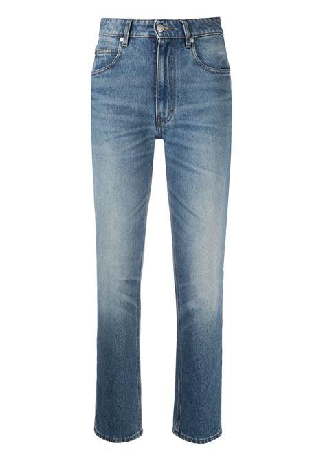Jeans dritti a vita alta Donna AMI PARIS | Jeans | E21FD010601480