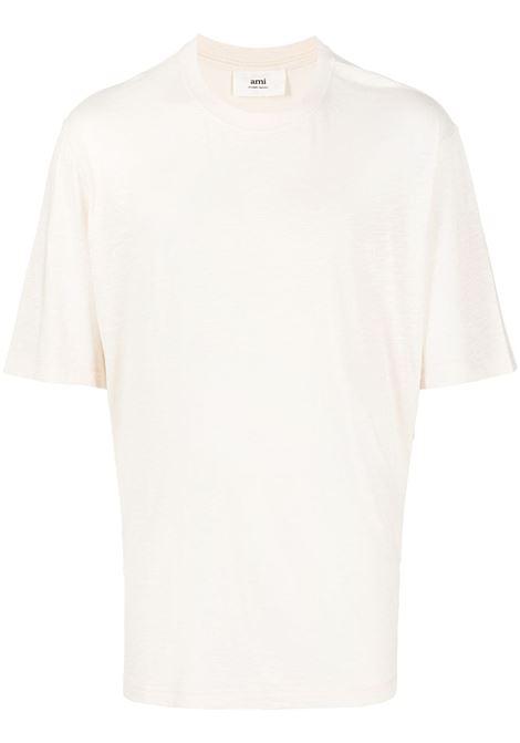 Ami Paris t-shirt uomo off white AMI PARIS | T-shirt | E21HJ120712150