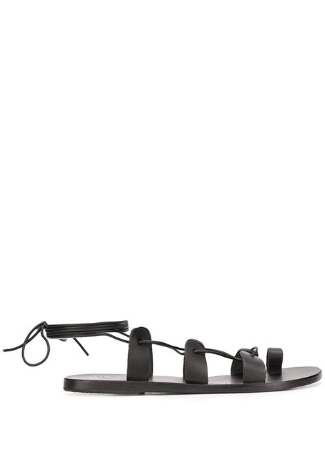 Ancient Greek sandals vachetta black women ANCIENT GREEK SANDALS | Sandals | ALCYONEBLK