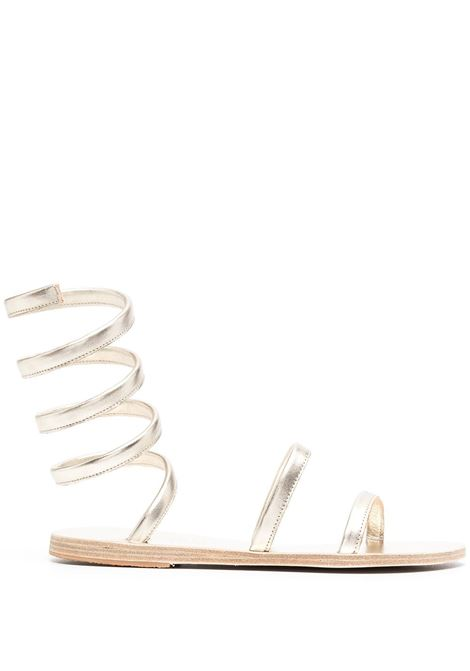 Ancient Greek sandals nappa all platinum women ANCIENT GREEK SANDALS | Sandals | OFISALLPLTNM