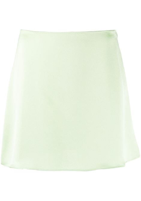 The Andamane minigonna donna mint THE ANDAMANE | Gonne | T090303ATNP140430