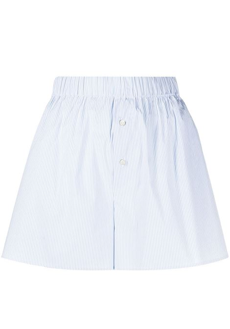 The Andamane shorts a righe donna cielo white THE ANDAMANE | Shorts | T090411ATNC118808