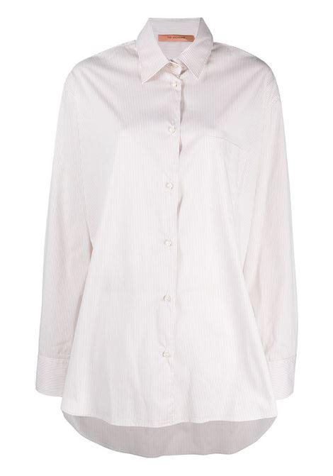 The Andamane camicia oversize a righe donna beige white THE ANDAMANE | Camicie | T090901BTNC118821
