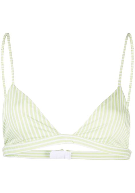 The Andamane reggiseno a righe donna green white THE ANDAMANE | Lingerie | T090915ATNC118866