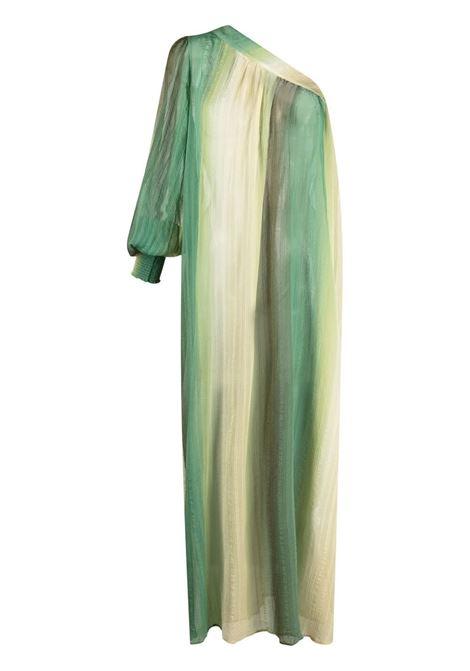 Anjuna  one-shoulder dress degradè verde ANJUNA | Dresses | EMMASCDDGRDVRD