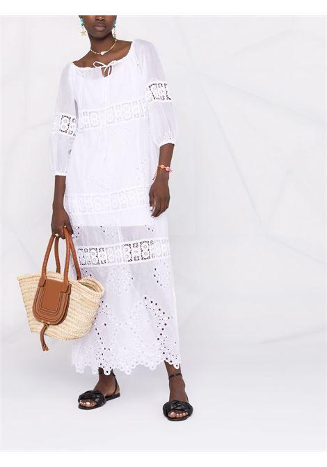 Abito lungo donna white ANJUNA | EVITAWHDWHT