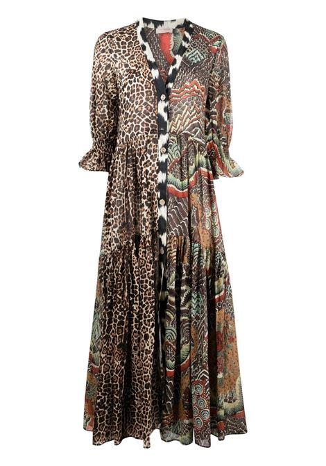 Anjuna animal-print dress mix africa ANJUNA | Dresses | LUELLADMXAFRC