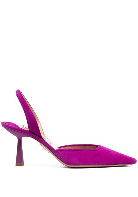 Maia 75mm slingback pumps AQUAZZURA | Pumps | AIMMIDL0SUEEXO