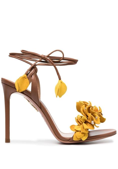 Aquazzura bougainvillea sandals women multicolor ecru AQUAZZURA | Sandals | BUGHIGS0SUNMLC