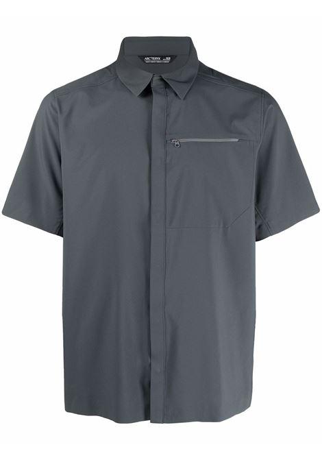 Button-up short-sleeved shirt grey - men ARC'TERYX | Shirts | 25214CNDR