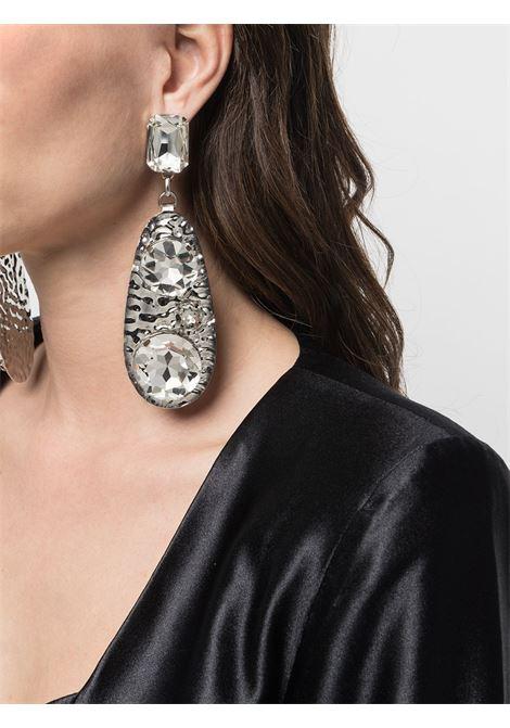 Oversized earrings AREA | RE21A03CLRSLVR