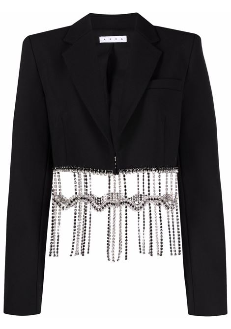 Area cropped jacket women black AREA | Blazers | SS21J02032BLK