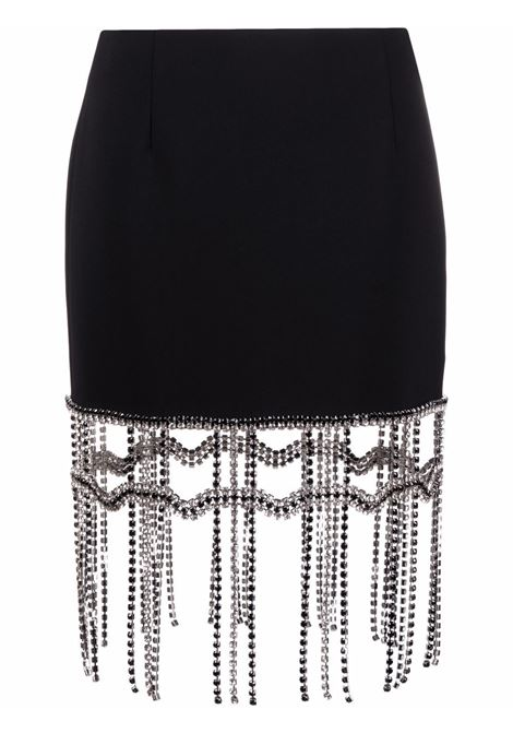 Area crystal fringe mini skirt women black AREA | Skirts | SS21S01032BLK