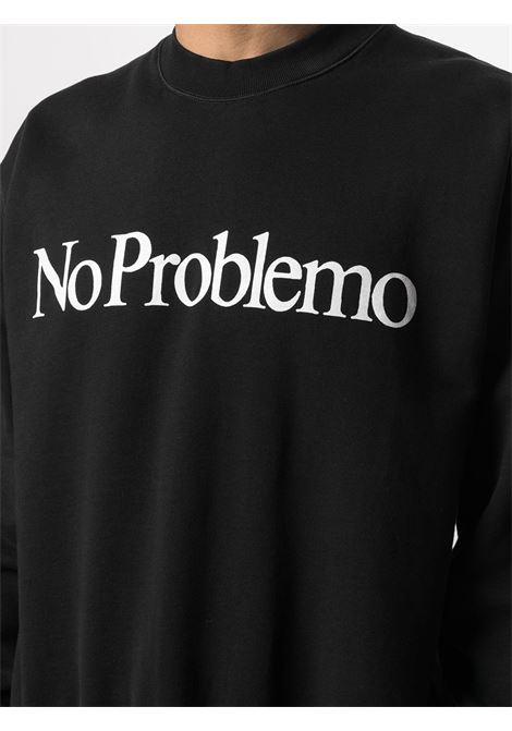 Felpa No Problemo Unisex ARIES | SRAR20002BLK