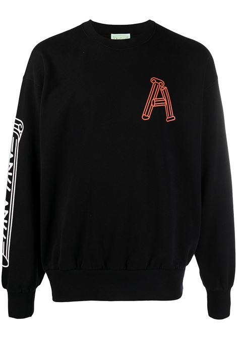 Monogram sweatshirt ARIES | Sweatshirts | SRAR20004BLK