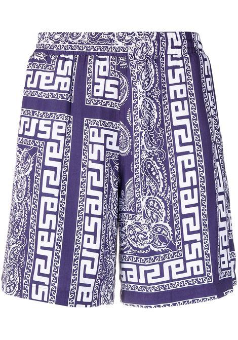 Paisley-print shorts ARIES | Bermuda Shorts | SRAR30110NVY