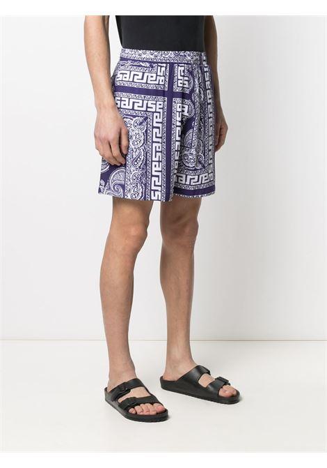Paisley-print shorts ARIES | SRAR30110NVY