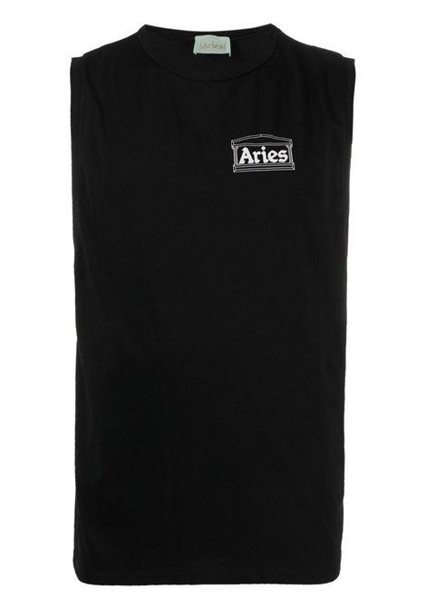 Sleeveless t-shirt men ARIES | T-shirt | SRAR40040BLK
