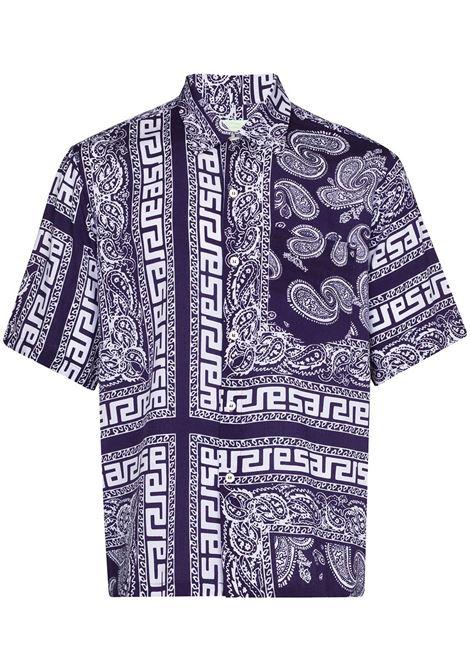 Bandana shirt  ARIES | Shirts | SRAR40110NV