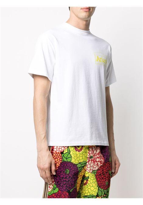 T-shirt con logo Unisex ARIES | SRAR60000WHT