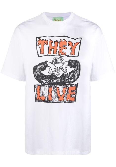 T-shirt con logo ARIES | T-shirt | SRAR60006WHT