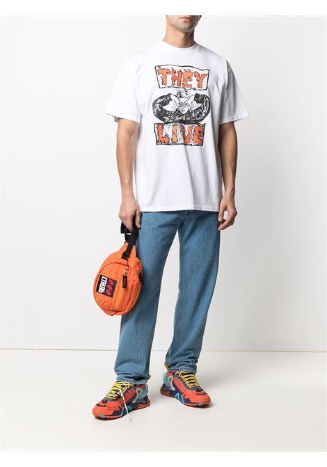 T-shirt con logo Unisex ARIES | SRAR60006WHT