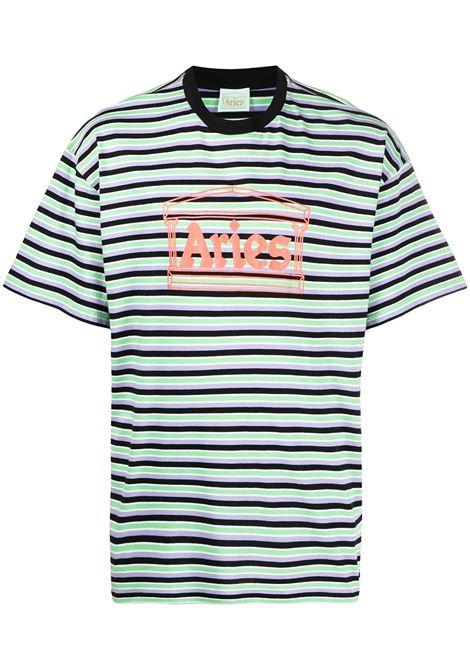 Logo T-shirt ARIES | T-shirt | SRAR60020GRN