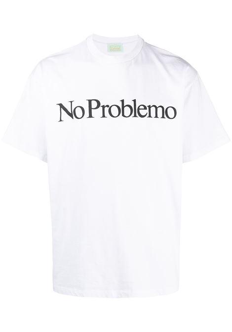 T-shirt con logo ARIES | T-shirt | SRAR60002WHT