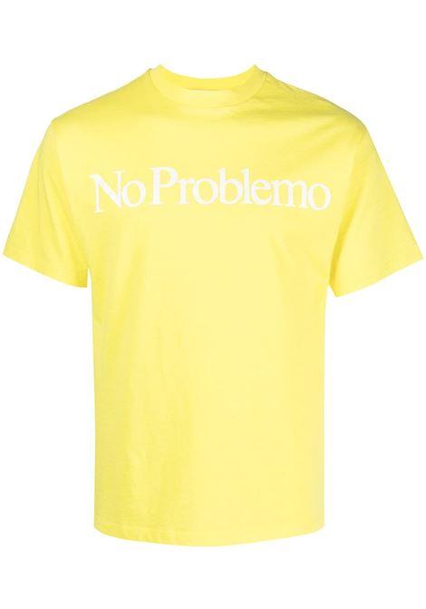 ARIES ARIES | T-shirt | SRAR6002YLLW