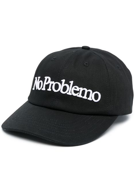 Aries baseball cap no problemo men black ARIES | Hats | SRAR90000BLK