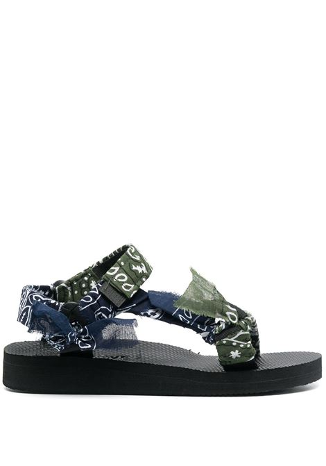 Arizona Love sandali trekky donna kaki navy ARIZONA LOVE | Sandali | TREKKYBANDANAKKNVY