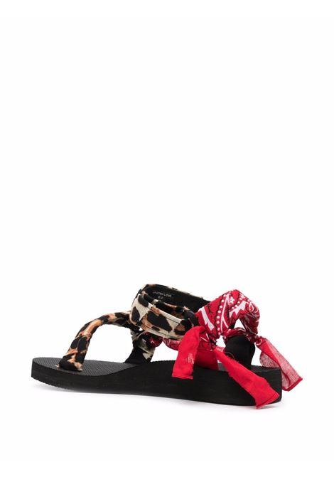 Trekky sandals women leopard print red ARIZONA LOVE | TREKKYSANDALSUPPERLPRDPRNTRD