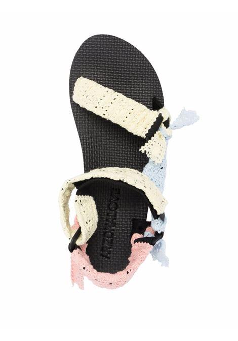 Sandali trekky women mix lace ARIZONA LOVE | TREKKYSANDALSUPPERMXLC
