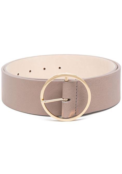 B-low the belt buckle belt women taupe gold B-LOW THE BELT | Belts | BH554000LETP