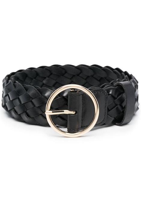 B-low the belt cintura tessa black gold B-LOW THE BELT | Cinture | BH803465LEBLK
