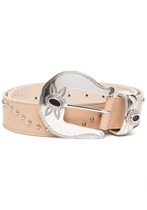 B-low the belt stud-embellished belt nude silver B-LOW THE BELT | Belts | BW821000LE