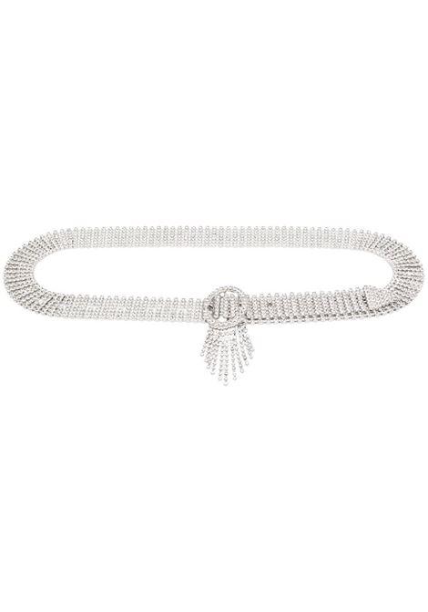 Crystal-embellished belt  B-LOW THE BELT | Belts | BW854030CHSLVR
