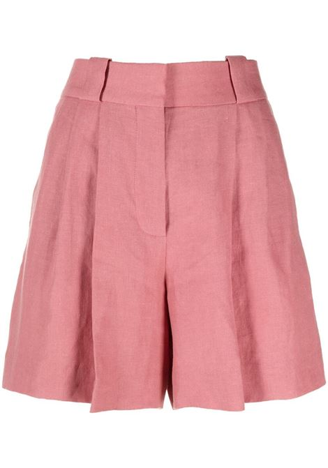 Salmon pink high-waisted shorts women BLAZÉ MILANO | Shorts | FPA01MS0040