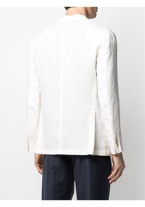 Fitted single-breasted blazer white - men BOGLIOLI | N1302QBLC4260106