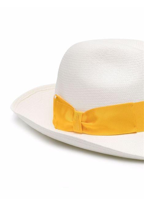 Woven ribbon-detail hat women  BORSALINO | 2320440036