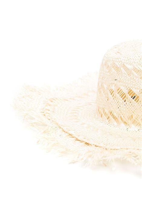 Borsalino fringe-brim hat women naturale BORSALINO | 2322307140