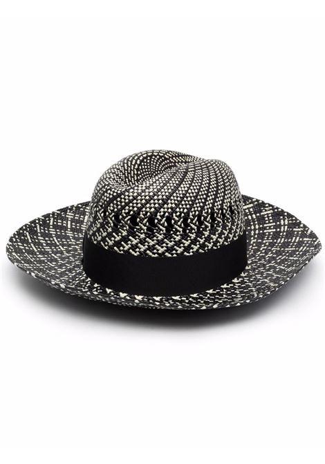 Two-tone hat women unico BORSALINO | Hats | 2322390001